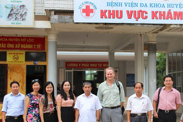 CDC Vietnam Partners with Vietnam to Improve Healthcare at District Hospitals
