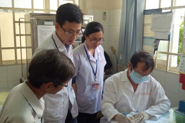 Improving medical education and reducing stigma in HIV clinics in Ho Chi Minh City