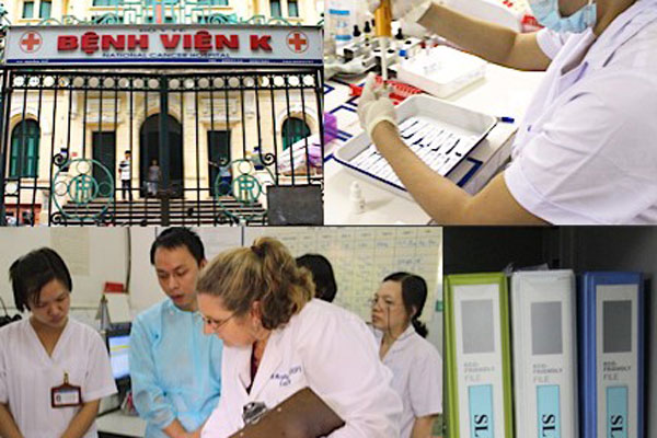 CDC helps strengthen Vietnam's national laboratory system