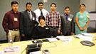 FETP India fellows, CDC: Back row (left to right): Dr. Satish Kumar; Dr. Tripurari Kumar; Dr. Rajesh Pandey; Dr. Parvez Pathan; Dr. Kapil Goel; and Dr. Yogita Tulsian. Front row: CDC Charlene Majersky, PhD. Photo by: Dr. Mohan Kumar. Photo taken May 6, 2014.