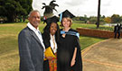 Akhona Tshangela and Moira Beery (pictured with the program director, Dr. Carl Reddy) are two of the successful graduates, and took the time to share their experiences with CDC South Africa