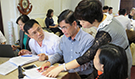 The Ministry of Health, PATH, CDC and other partners plan the event-based surveillance pilot project in Vietnam.