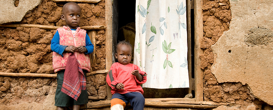 Children in a refugee camp in Kenya. Photo: David Snyder, CDC Foundation.