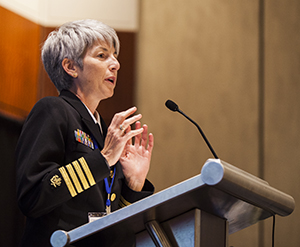 photo of Nancy Knight, MD, Director of Division of Global Health Protection (DGHP)