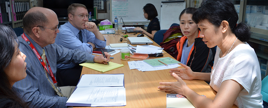 A series of training courses and knowledge transer were offered by visiting CDC experts.