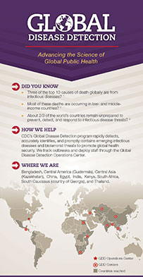 Global Disease Detection infographic