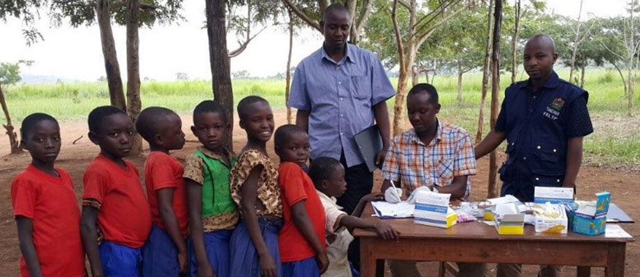 Field investigation of an outbreak affecting schoolchildren in Kajana Village, Tanzania, 2017.