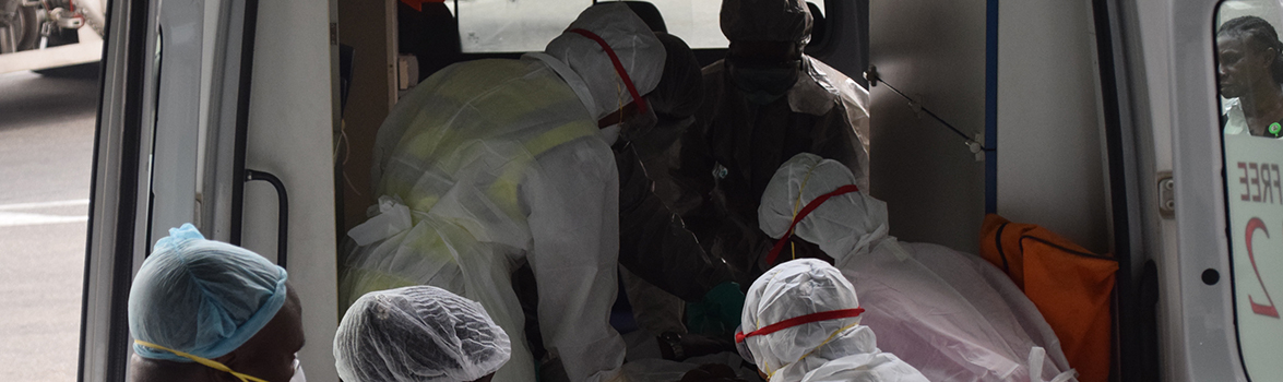 NCDC, with the West African Health Organisation, conducted an outbreak simulation exercise in West Africa which helped them prepare for the Lassa Fever response. (Photo: Chikwe Ihekweazu, NCDC director, Twitter page.)