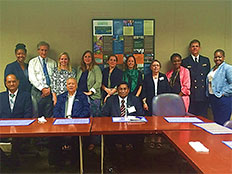 MOHS officials meet with representatives from U.S. CDC and IANPHI