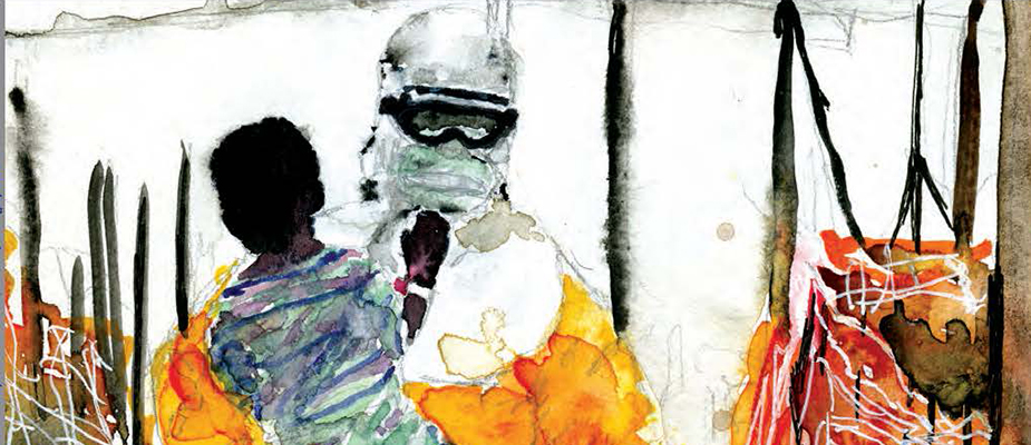 Cover image for <em>Emerging Infectious Diseases Global Health Security Supplement.</em> Alana Mermin-Bunnell (b. 2001), 28,616, 2017. Digital image courtesy of the artist/private collection, Atlanta, Georgia, USA.