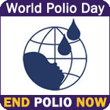 World Polio Day, End Polio Now http://www.cdc.gov/features/polioday