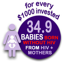 babies born without HIV