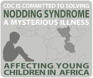 Nodding Syndrome affected young children in Africa