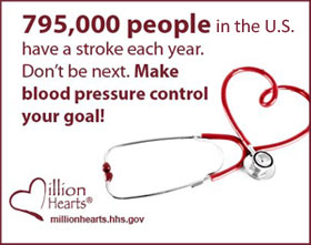 Stroke and blood pressure