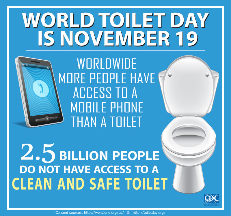 CDC Global Health - Stories - Why World Toilet Day?