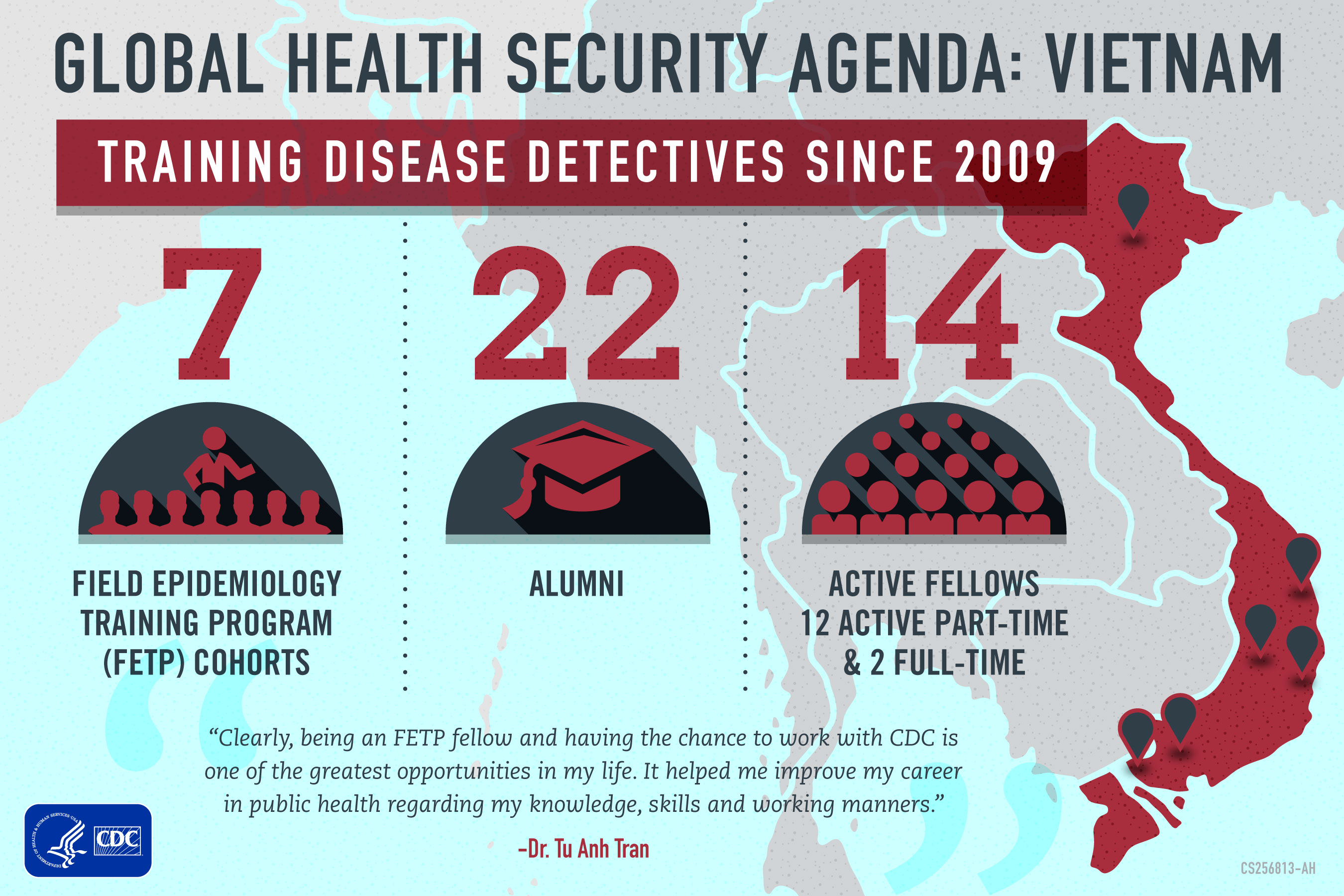 CDC Global Health - Vietnam - What CDC Is Doing