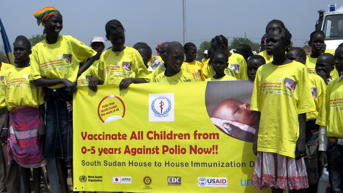 Mass immunization campaigns are quite an event.