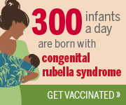 Congenital Rubella Syndrome Badge