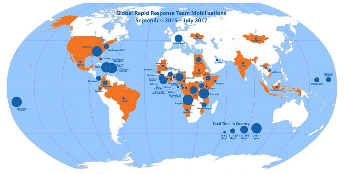 Global Rapid Response Team Mobilizations