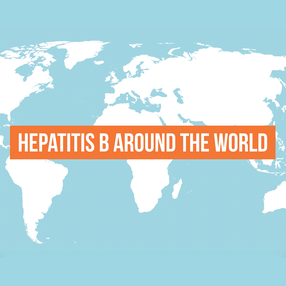 Hepatitis B around the world