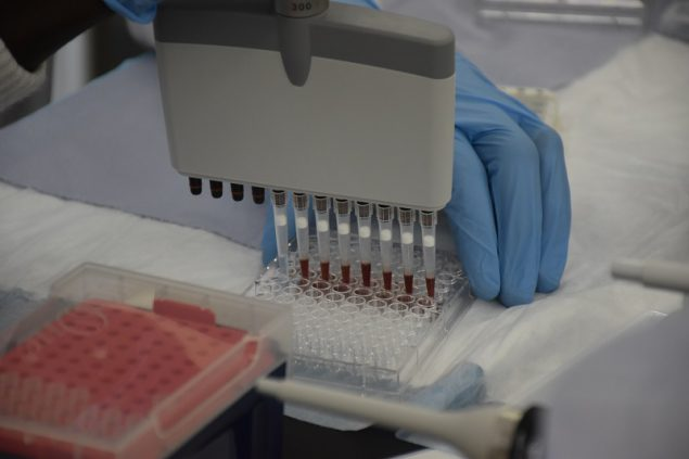 CDC developed a new blood-based test