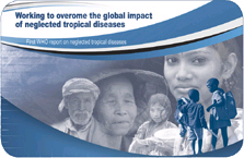 The cover of the First WHO report on Neglected Tropical Diseases