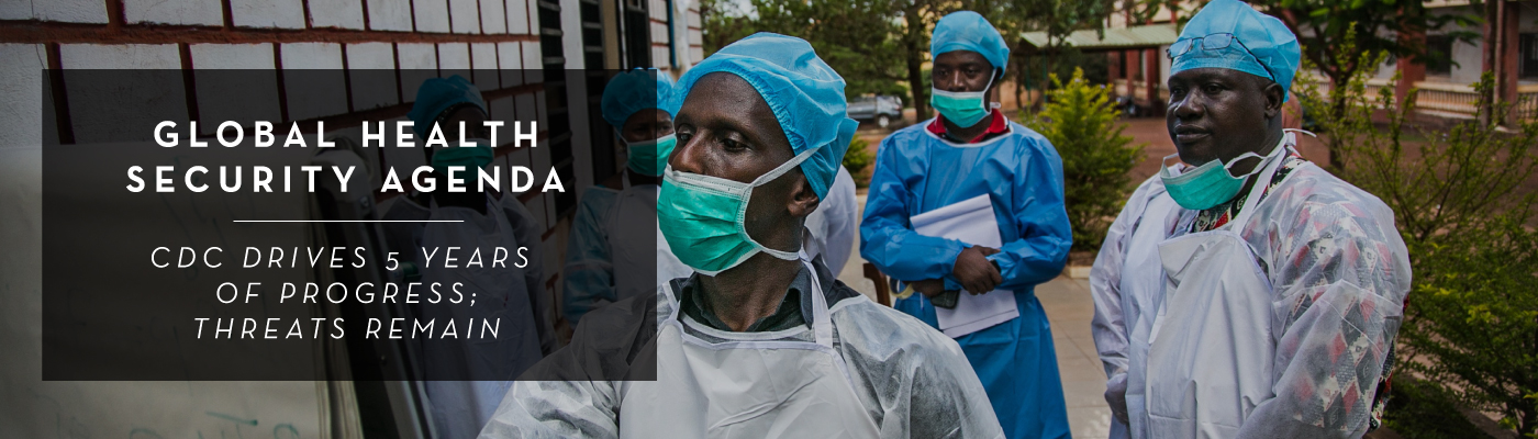 Global Health Security Agenda banner