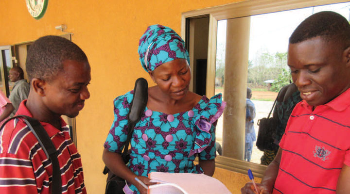 FETP residents from Benin and Togo share information about a Lassa Fever outbreak