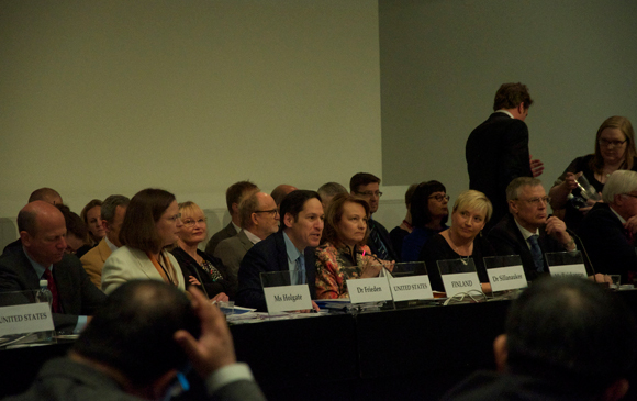 Finland hosted the first Commitment Development Meeting to discuss strategic, measurable actions that nations can take to advance the nine objectives of the GHSA that directly support the WHO International Health Regulations (IHR) and other relevant global health security frameworks.