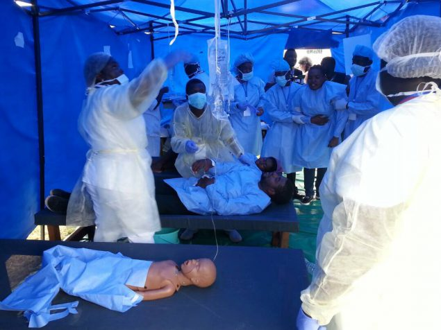First-Of-Its-Kind Exercise Tests Cameroon's Ability to Detect, Respond and Stop Cholera 'Outbreak'