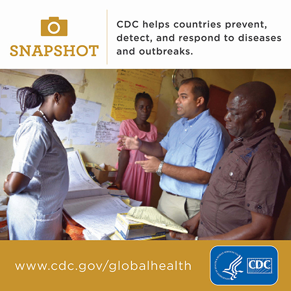 CDC helps countries to respond to diseases and outbreaks www.cdc.gov/globalhealth
