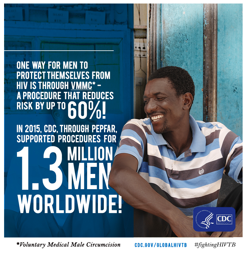 One way for men to protect themselves from HIV is through VMMC*