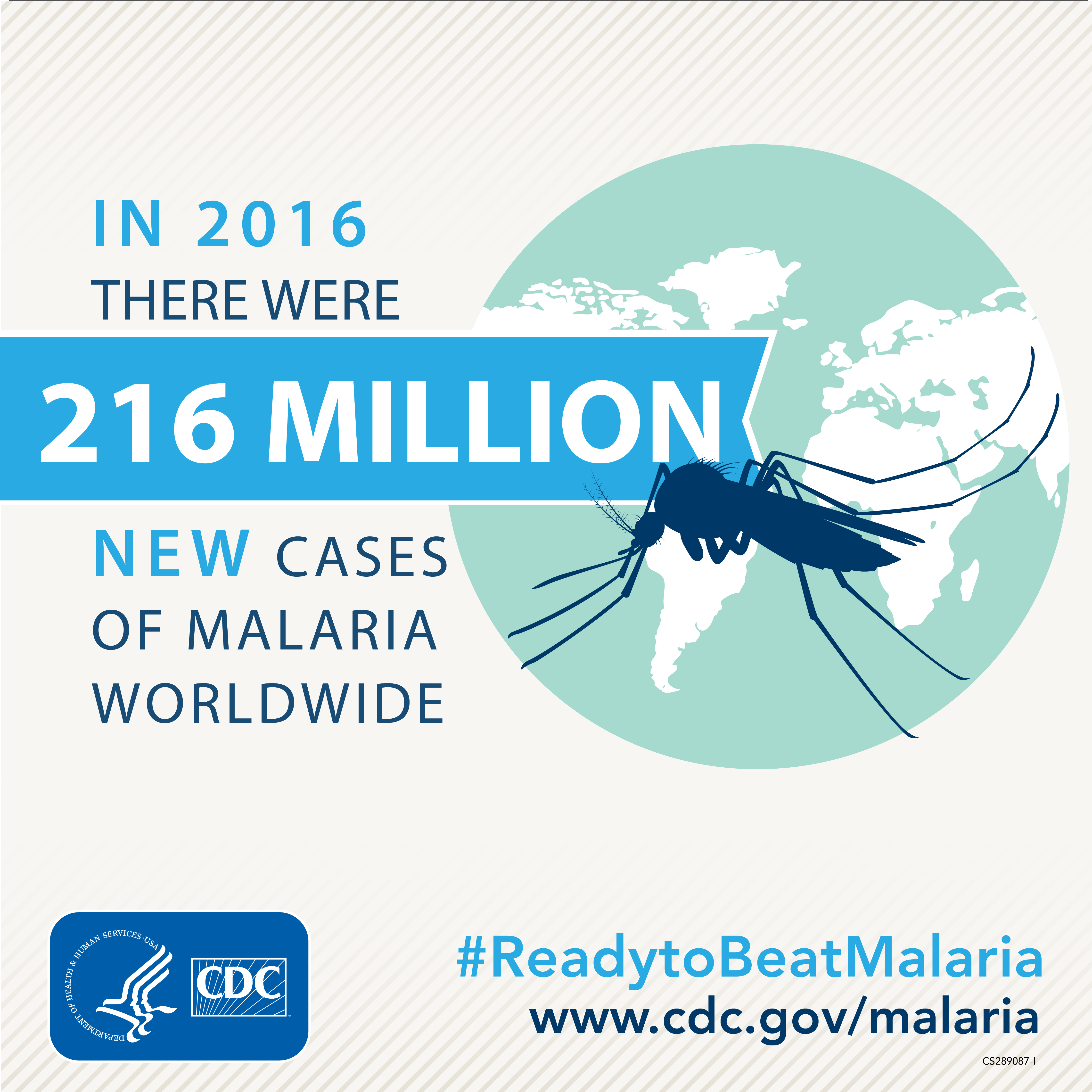 In 2016 there were 216 million new cases og malaria worldwide