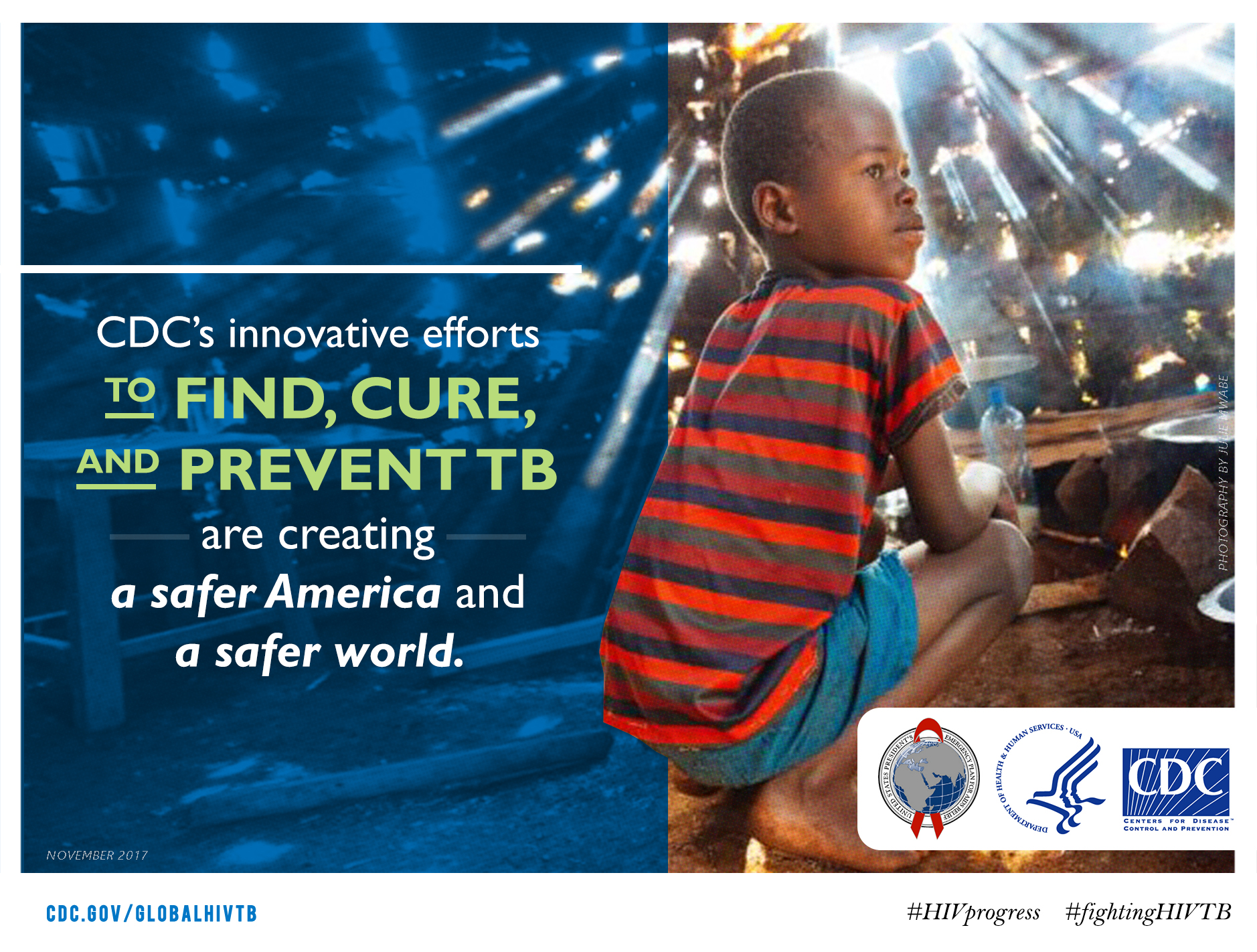 CDC's innovative efforts to find cure and prevent TB