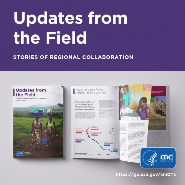 Updates from the field. Stories of regional collaboration
