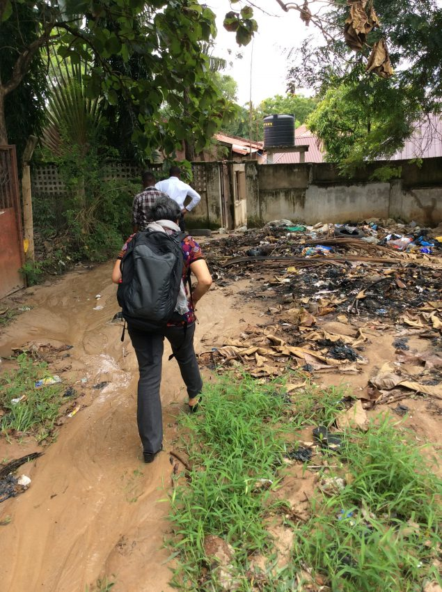 CDC's Indu Ahluwalia travels with survey interviewers to observe data collection for the Global Adult Tobacco Survey in Tanzania.