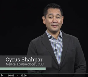 Cyrus Shahpar of the Global Rapid Response Team is one of many ERRB experts featured on Coursera