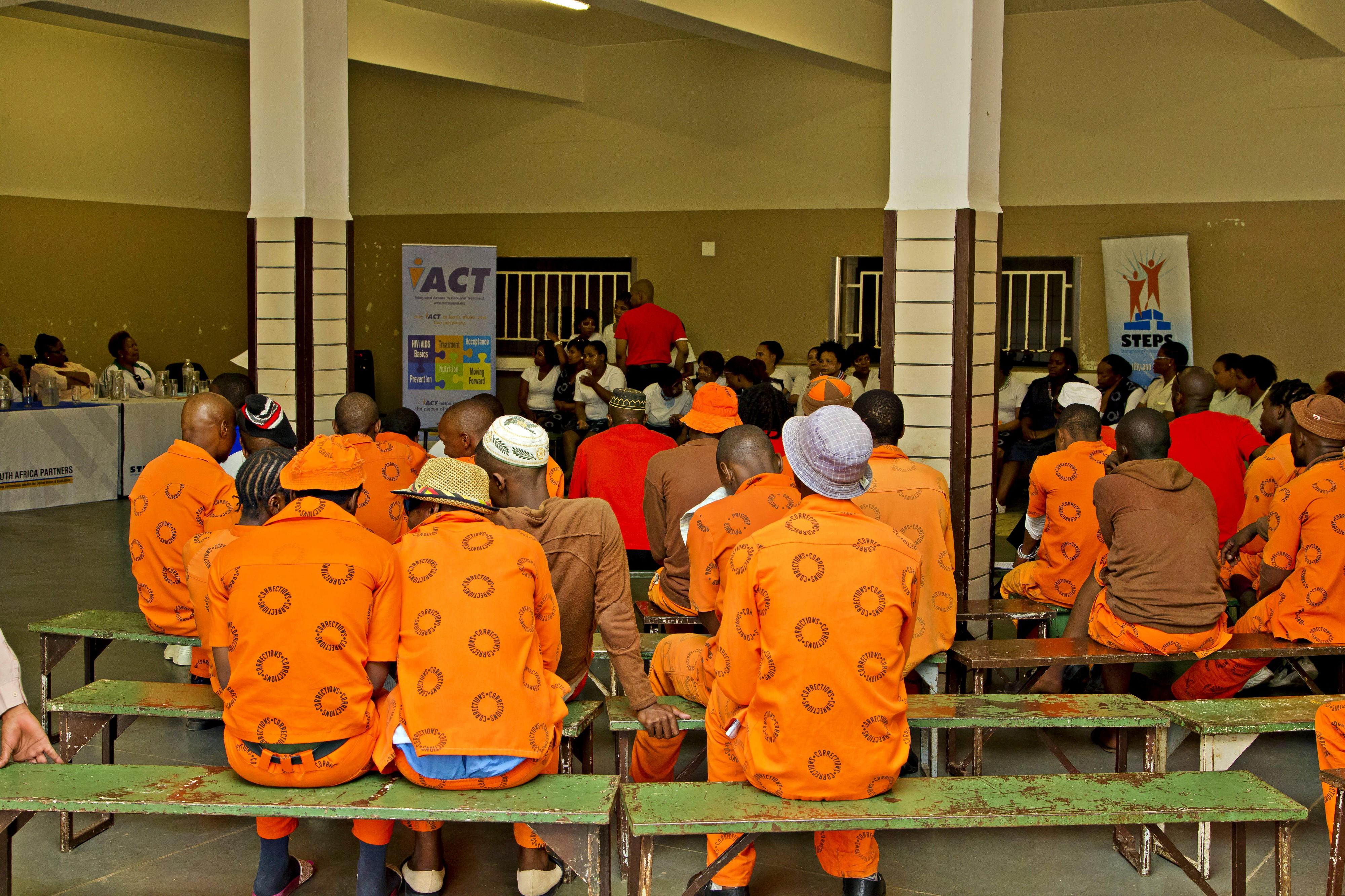 Inmates HIV Meeting
