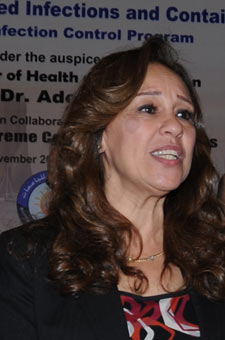 Maha Talaat, Deputy Director for Disease Prevention, Global Disease Detection, US Naval Medical Research Unit. Cairo, Egypt.