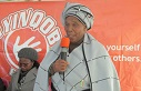 :   A traditional healer encourages people to step forward and test for HIV.
