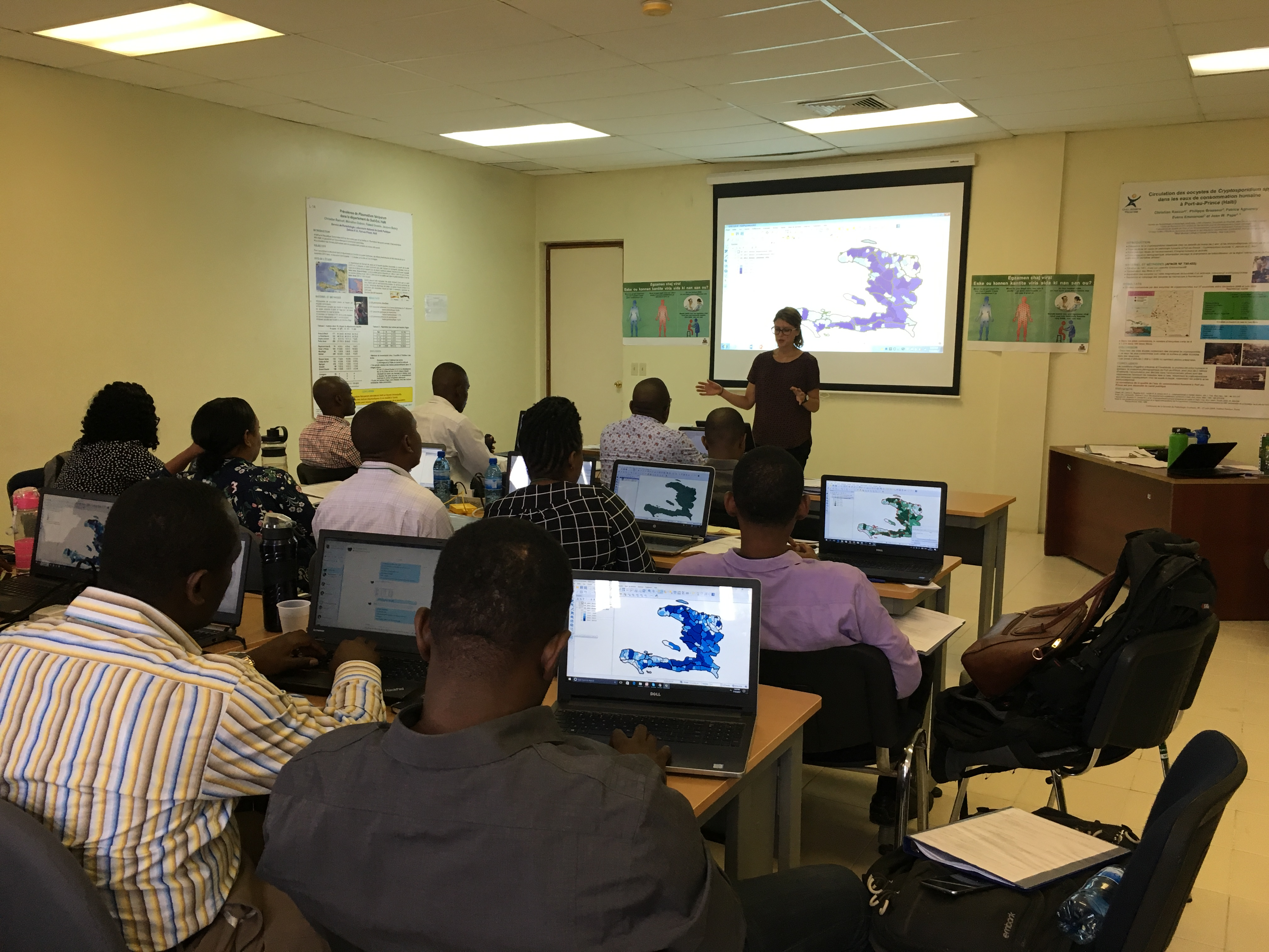 Building Local GIS Capacity in Haiti to Improve Program Delivery