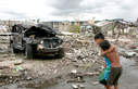 In Tacloban the damage from Typhoon Haiyan was devastating.