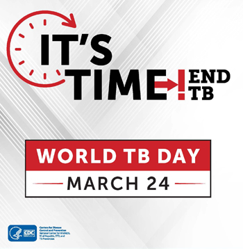 IT'S TIME, END TB! World TB Day promotion