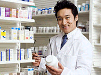 Photo of pharmacist.