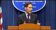 Photo of Thomas R. Frieden, M.D., M.P.H. Director, CDC, and Administrator, ATSDR