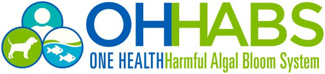 One Health Harmful Algal Bloom System logo