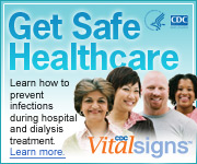 Get Safe Healthcare – Learn how to prevent infections during hospital and dialysis treatment. Learn more: CDC Vital Signs™…