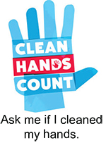Ask me if I cleaned my hands Sticker