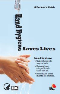cover of hand hygiene brochure