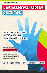 It's Okay to Ask for Protection from Infection Spanish Poster
